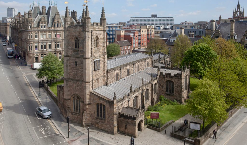 St John the Baptist, Newcastle upon Tyne – an oasis of peace in the