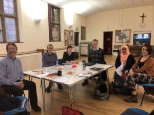 Meeting of Tyne and Wear Citizens leaders at St John's